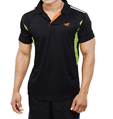 NNN Men's Polyester dry-fit Sports T-Shirt: Amazon.in: Clothing ...