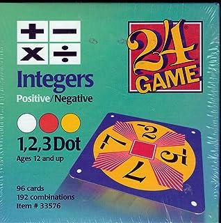 Amazon.com: 24 Game: 48 Card Deck, Single Digit cards Math Game ...