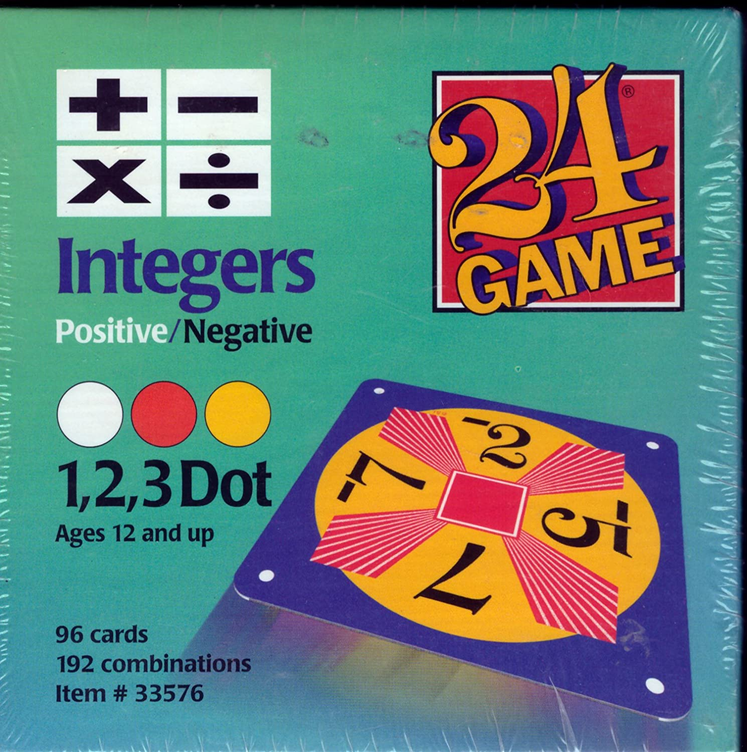 integers game for kids math classroom activities