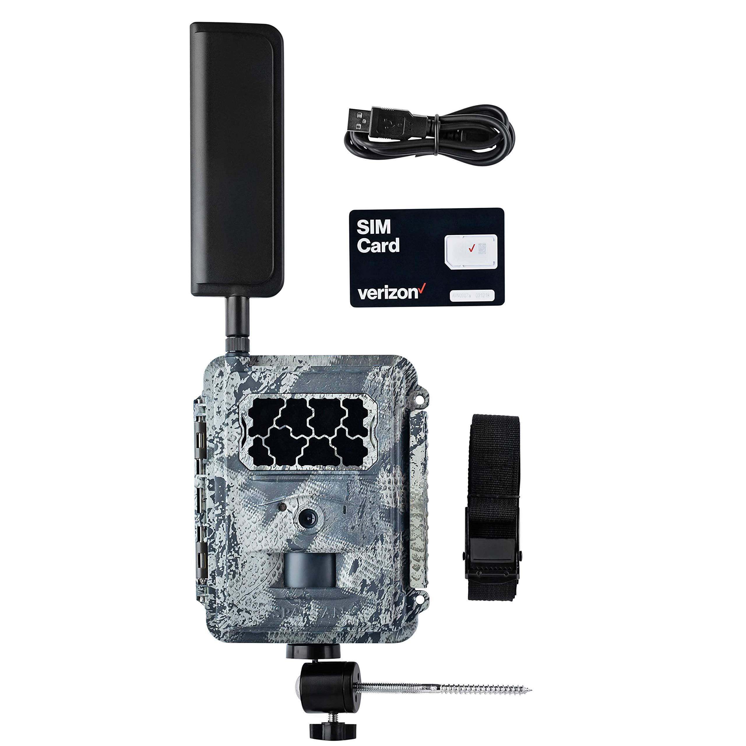 Spartan 4G LTE Wireless GoCam Trail Camera with Freedom Mount (Verizon LTE, Areus Camo Infrared)