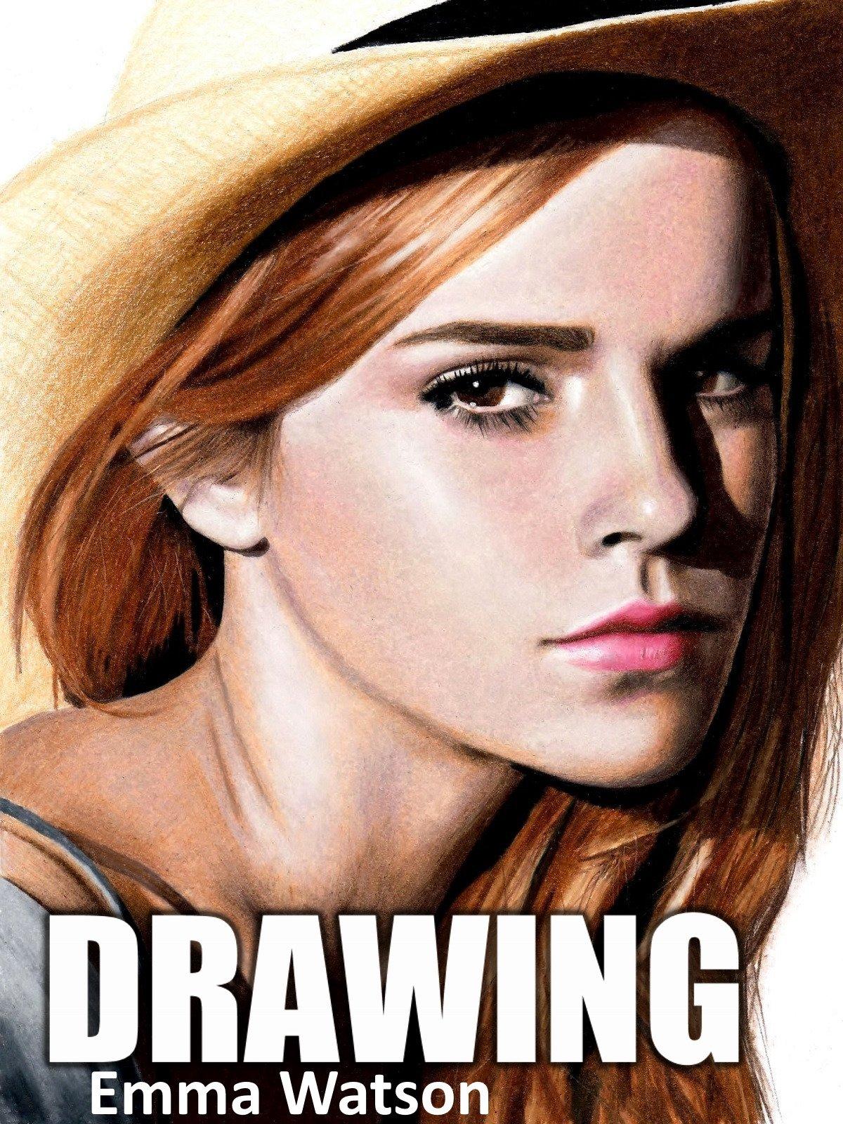 Drawing Emma Watson by