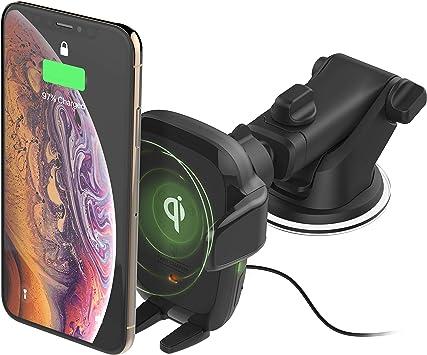 Iottie Auto Senseqi Charging Automatic Clamping Dashboard Für Iphone Xs Max R 8 Plus 10 W Für Samsung Galaxy S10 E S9 S8 Plus Edge Hinweis 9 Auto