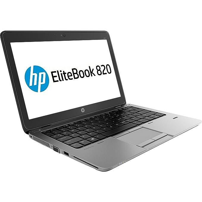 Portátil HP 820 G1 Core i5 - 4300U 8GB de GB SSD 12.5 in HD AG LED Windows 10 Professional (Reacondicionado): Amazon.es: Informática