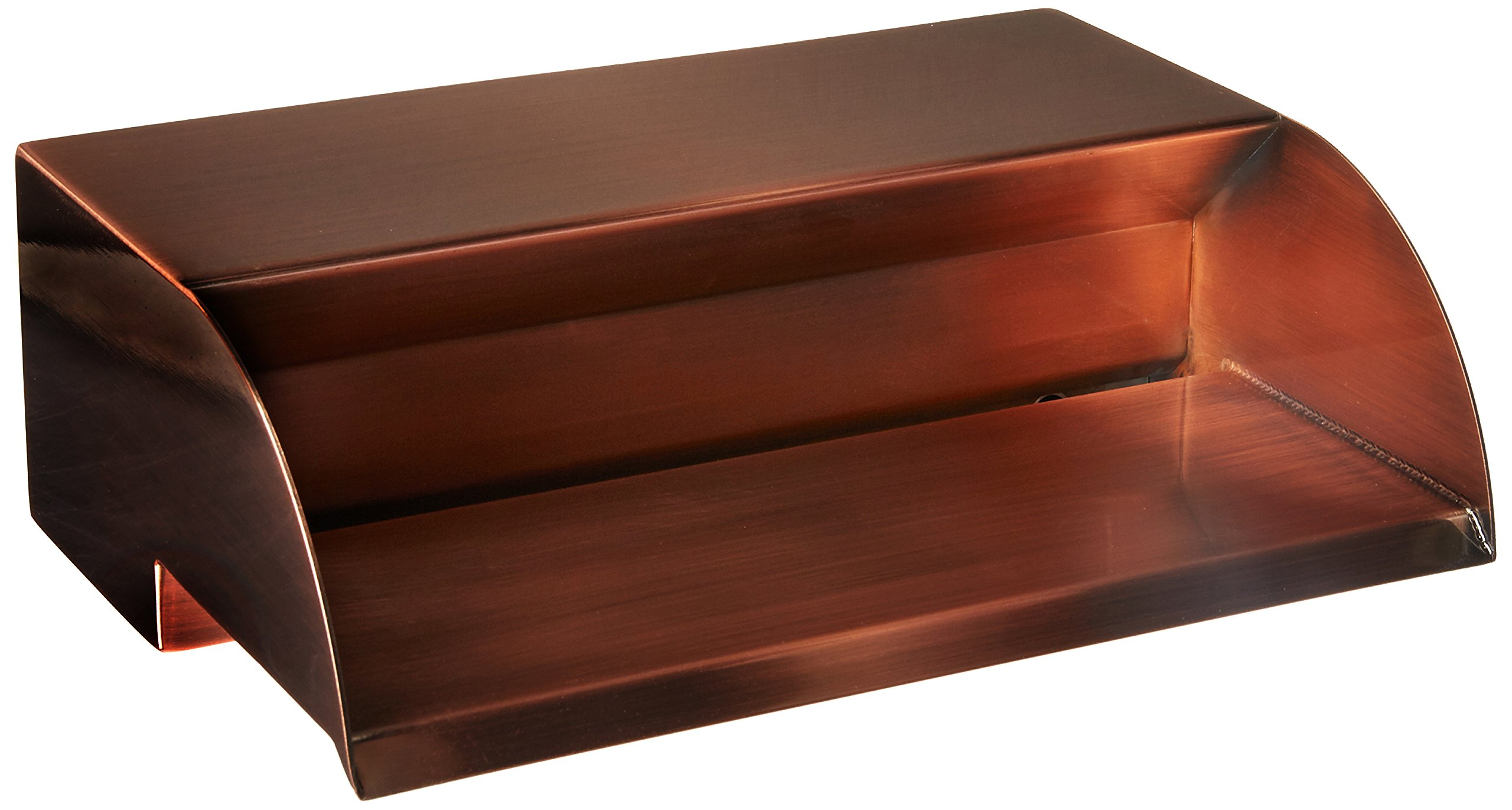 Atlantic Water Gardens 12'' Copper Finish Scupper