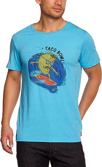 BILLABONG Taco Bowl SS - Camiseta, Color Azul, Talla L: Amazon.es: Ropa y accesorios