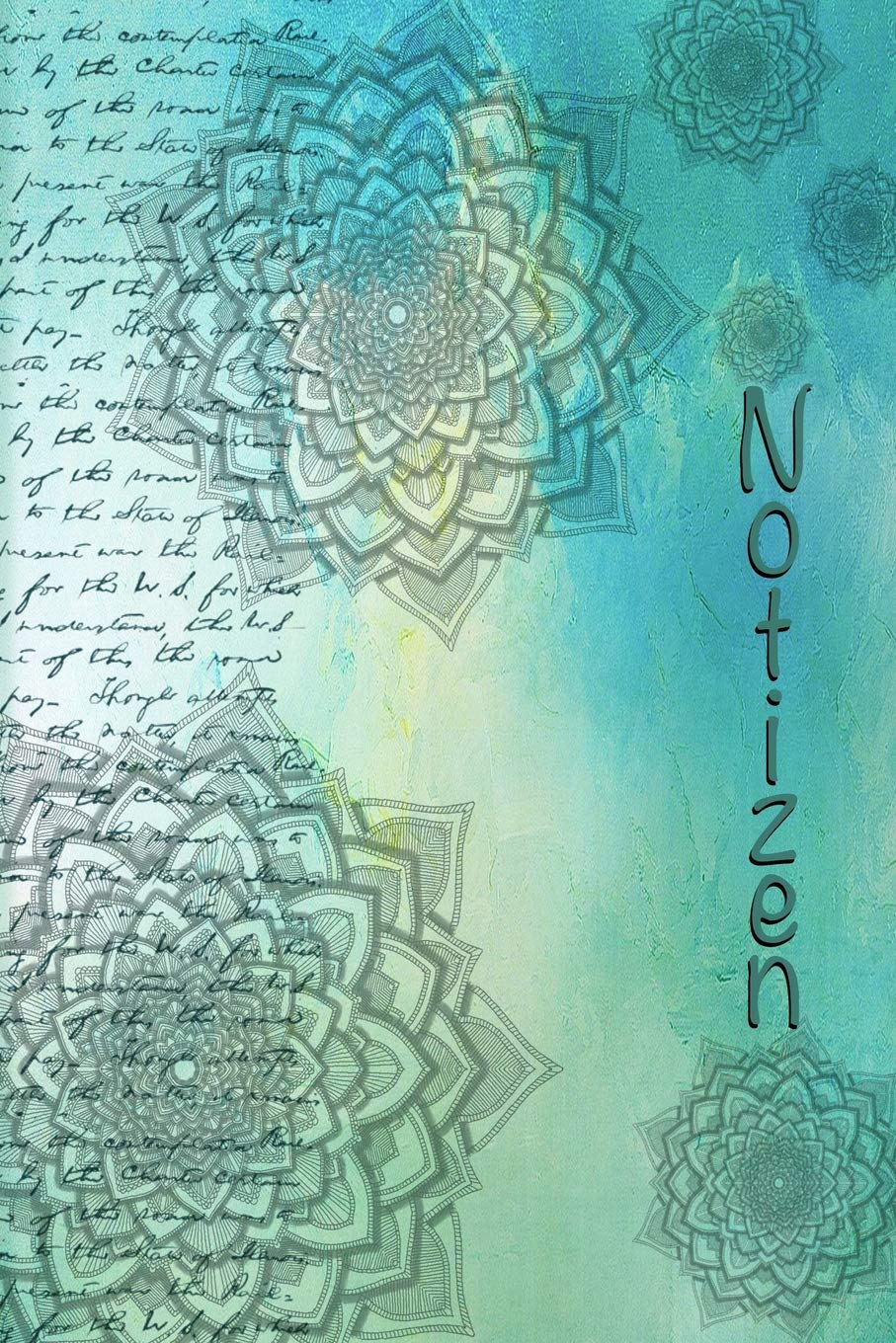 Notizen Softcover Notizbuch Mandala Zum Ausmalen I 65