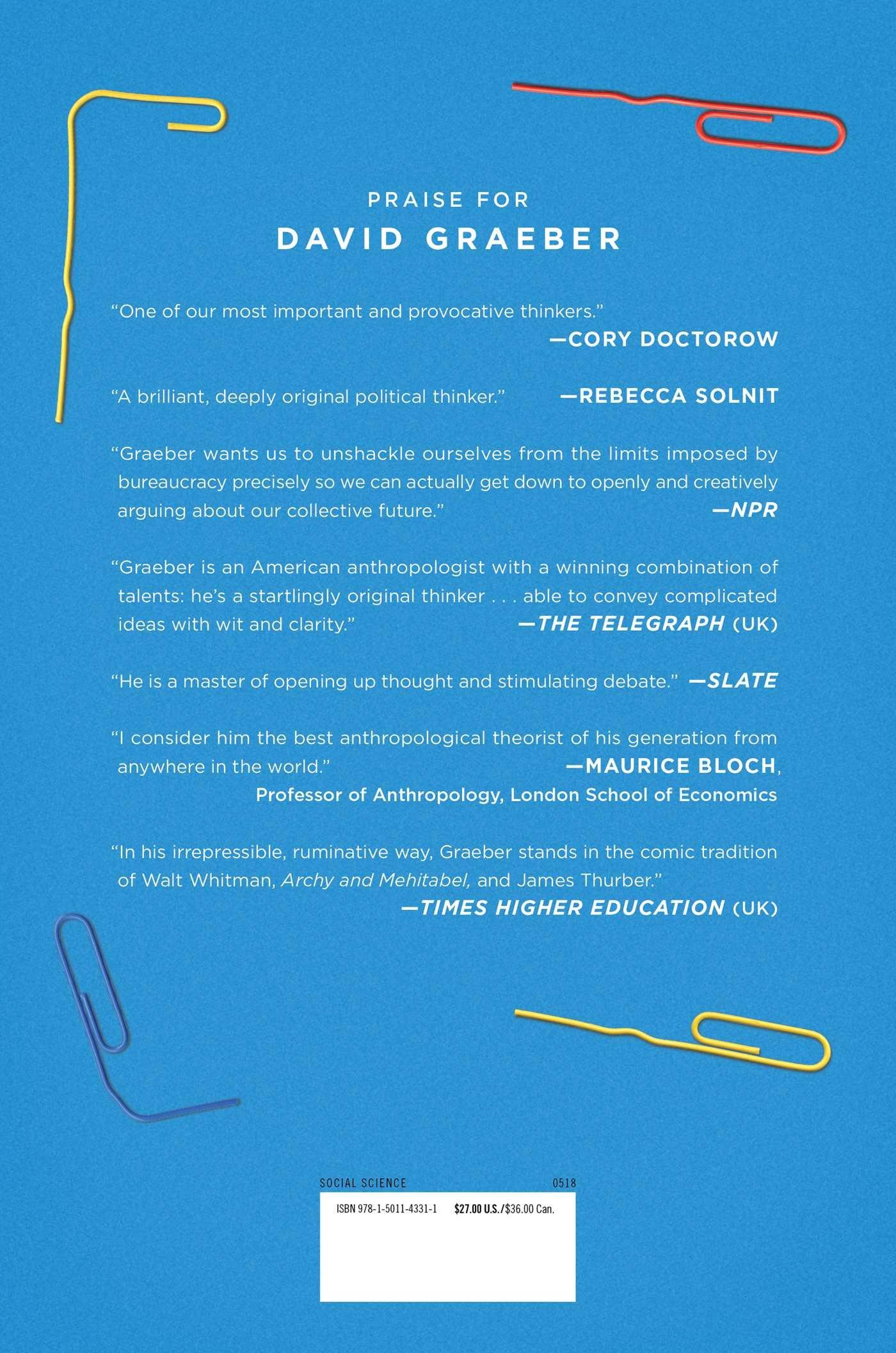 Amazon.com: Bullshit Jobs: A Theory (9781501143311): David Graeber ...