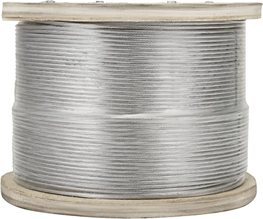 3//16 7x19 Stainless Steel Aircraft Cable 500ft Reel 150M Wire Rope T304