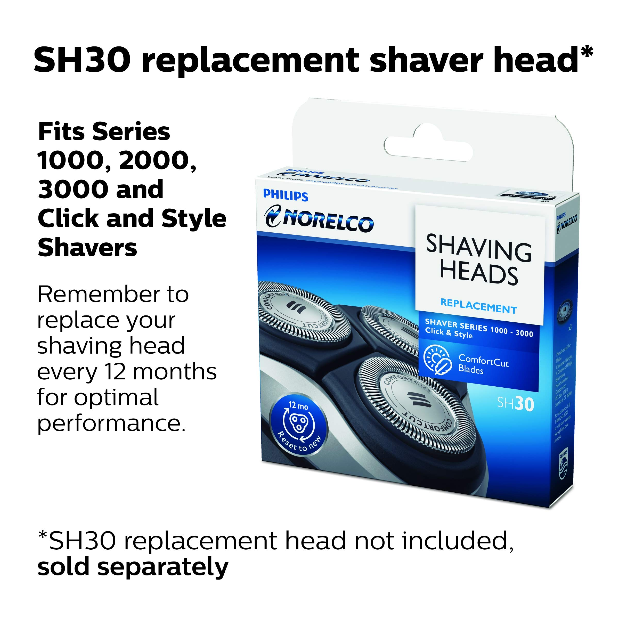 Philips Norelco Corded Electric Shaver 1100, S1150/81 with CloseCut Blade System by Philips Norelco (Image #6)