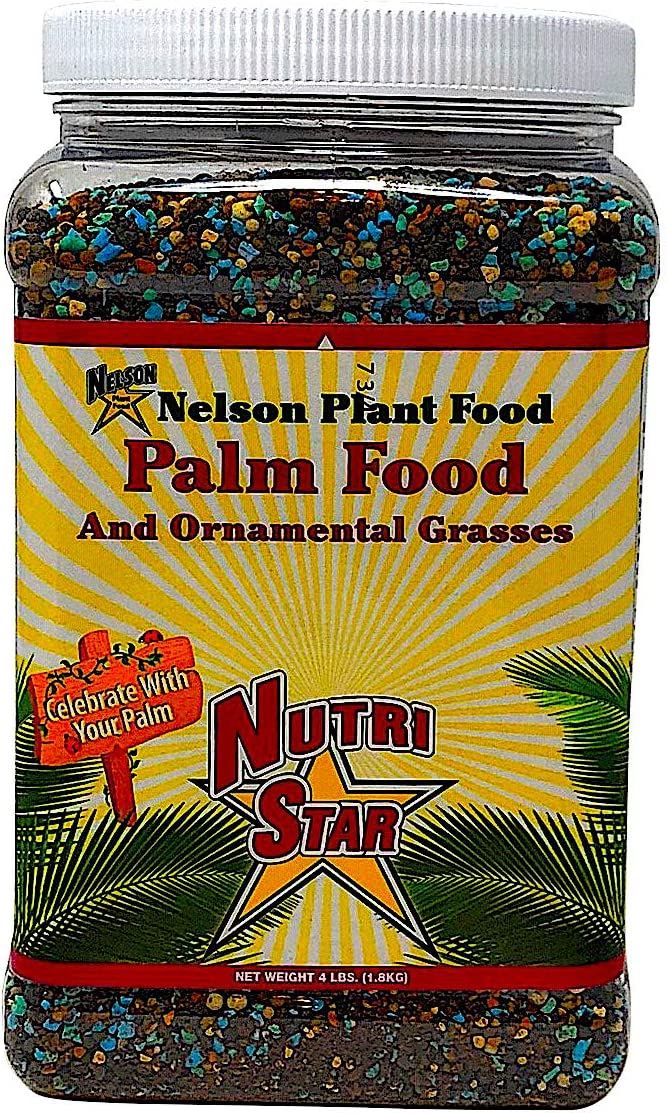 Nelson Plant Food - NutriStar Palm Food - 4 lb