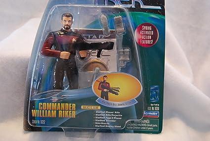 Star Trek Kommander William Riker Warp Factor Serie 1 Actionfigur Action- & Spielfiguren