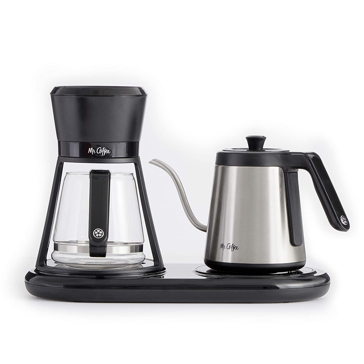 Mr. Coffee BVMC-PO19B All-in-One At-Home Pour Over Coffee Maker, Black