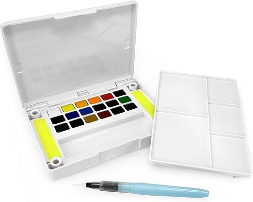 Sakura Koi - Caja de dibujo con bolsillo, 18 colores surtidos: Amazon.es: Hogar