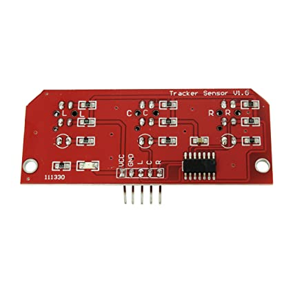 Amazon com: Line Follower Tracking Infrared IR Detector Array Module
