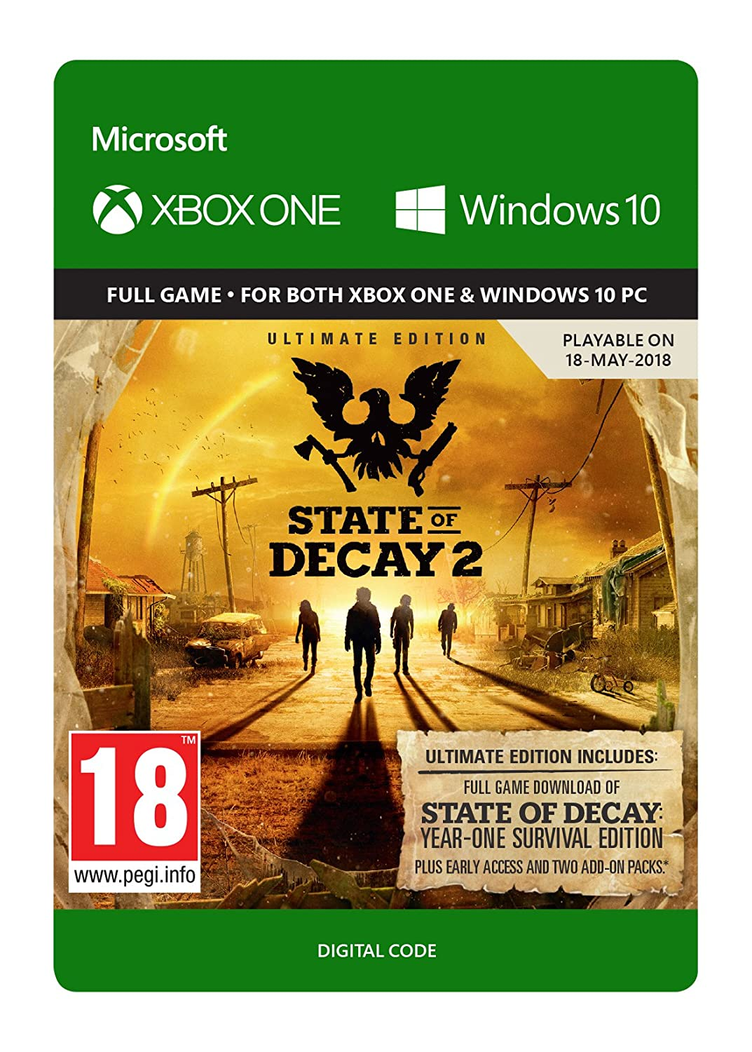 State of Decay 2 Ultimate Edition | Xbox One - Download Code