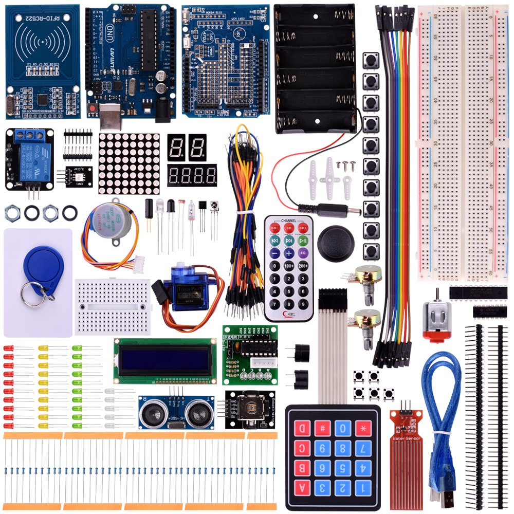 Kuman Rfid Master Starter Kit For Arduino Update Uno R3 Can Use The Other Cards This Project Beginners Good Luck Projects With Tutorials Rc522 Sensor Module Lcd Servo Dc Motor K25 Updated