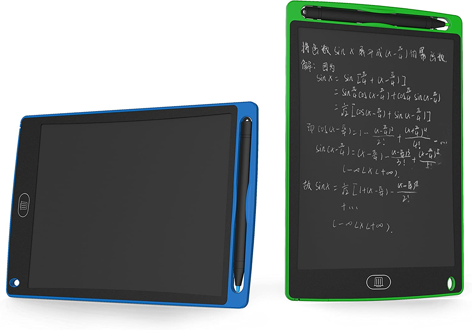 8.5-Inch LCD Writing tablet-Can Be Used as office Whiteboard Bulletin Board Kitchen Memo Notice Fridge Board Large Daily Planner Gifts for kids(Black