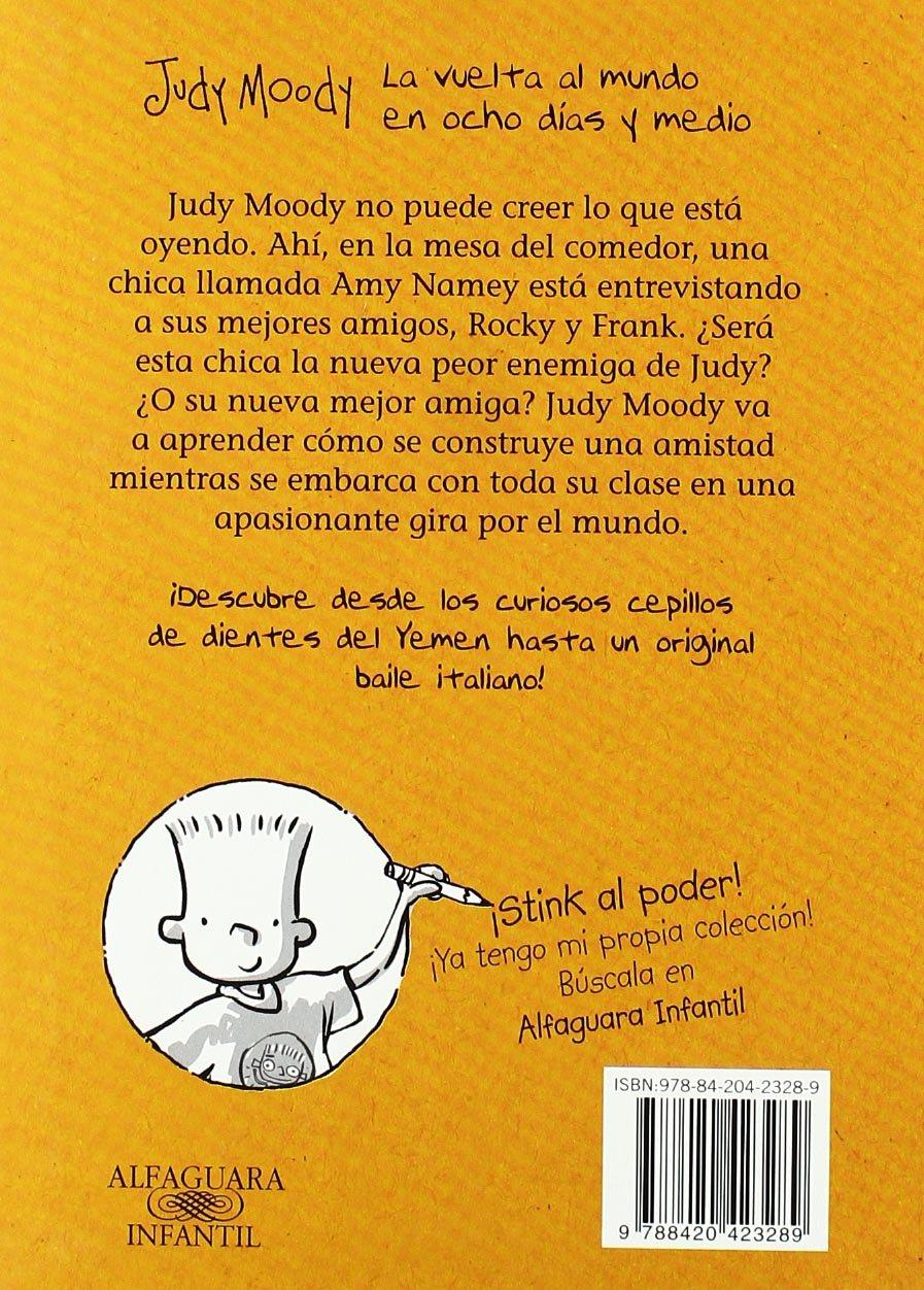 Judy Moody. La vuelta al mundo en ocho días y medio: MEGAN MCDONALD: 9788420423289: Amazon.com: Books