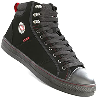 Lee Cooper Steel Toe Cap Baseball Style Safety Boots. LC022 (8)   Amazon.co.uk  Clothing 87d5e4c0c