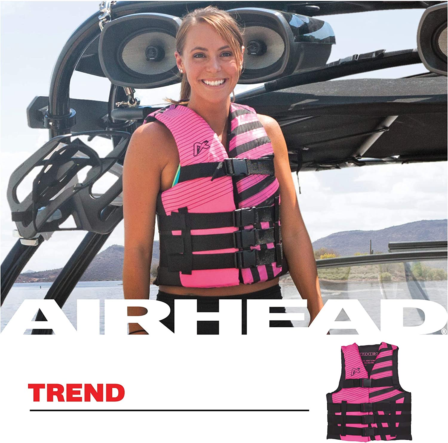 Airhead Trend Life Vest : Sports & Outdoors