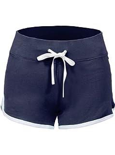 SWISSWELL Damen Sport Shorts Kurze Hosen Baumwolle Yoga Athletik Tanzen  Shorts Fitness Hot Pants Hipster Workout cdada64e2d