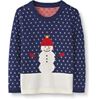 Moon and Back by Hanna Andersson Holiday Sweater Infant-and-Toddler-Sweaters Unisex bebé