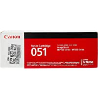 Canon CRG-051 2168C003AA Laser Toner Cartridge, 051 Black