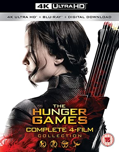 The Hunger Games Complete Collection 4K Blu-ray 2016: Amazon.es ...