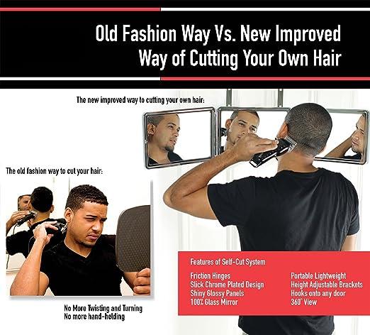 Amazon Self Cut System Perfecting Self Grooming Black Lambo