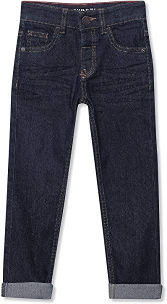 M/&Co Boys Skinny Jeans Mid Wash Denim
