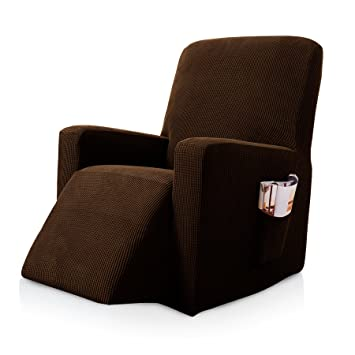 Amazon.com: Funda para sillón reclinable de cuero, con ...