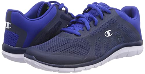 Mens Low Cut Alpha Competition Running Shoes, Blue (Dark/Royal Blue Bs035), 11.5 UK (46 EU) Champion