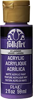 product image for FolkArt Acrylic Paint in Assorted Colors (2 oz), 410, Lavender