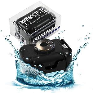 5. Monster Magnetic Waterproof Case - Strong Magnet Mount Car Safe