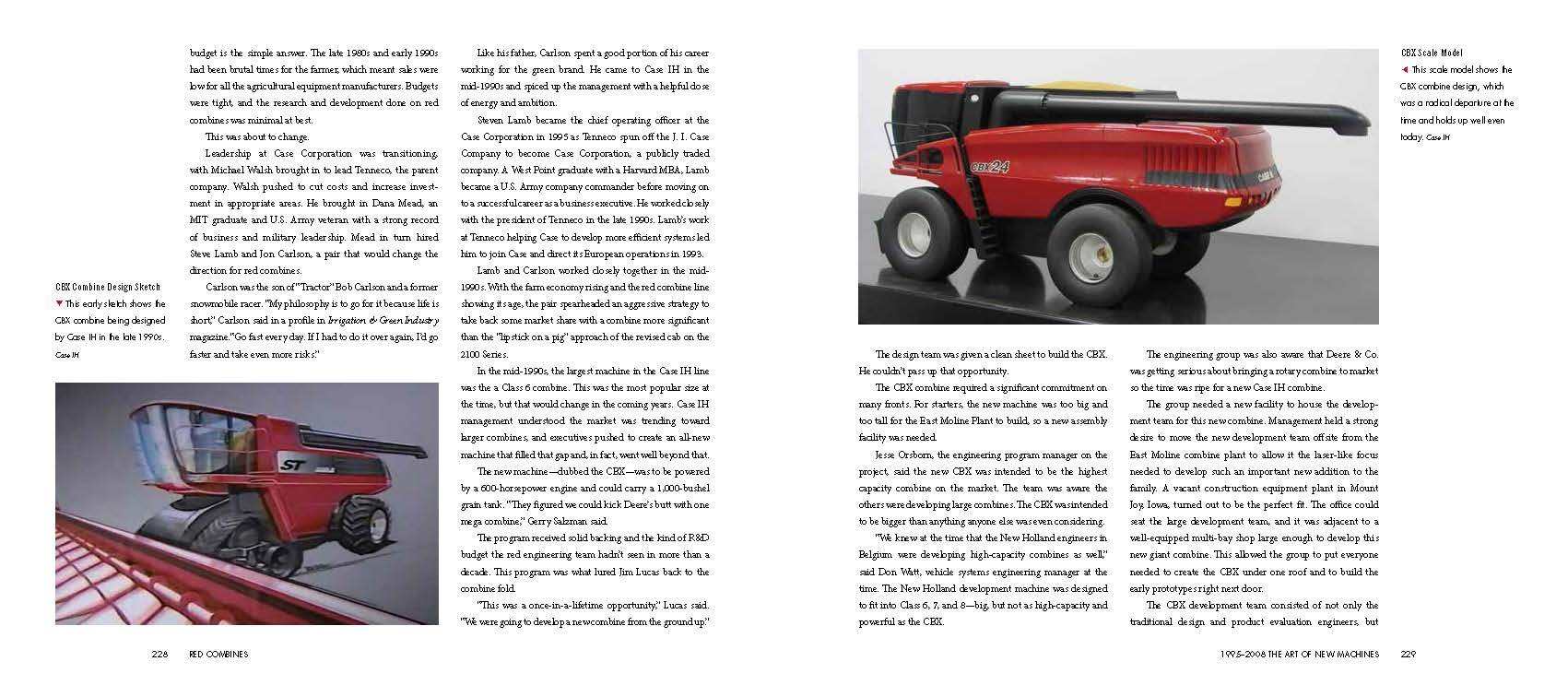 Red Combines 1915-2015: The Authoritative Guide to International Harvester and Case IH Combines and Harvesting Equipment by Octane Press LLC (Image #9)
