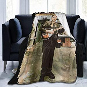 Dawiine The Office Dwight Schrute Ultra Soft Micro Fleece Blanket Air Conditioner Blanket Suitable for Bed Sofa Chair Camp Bed Living Room