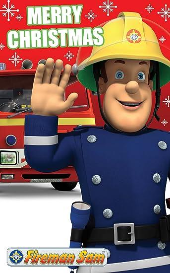 Amazon.com: Fireman Sam Tarjeta de Navidad: Toys & Games