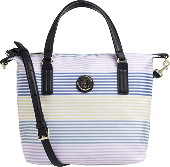 Tommy Hilfiger Poppy Small Stripe Tote Womens Shopper Bag