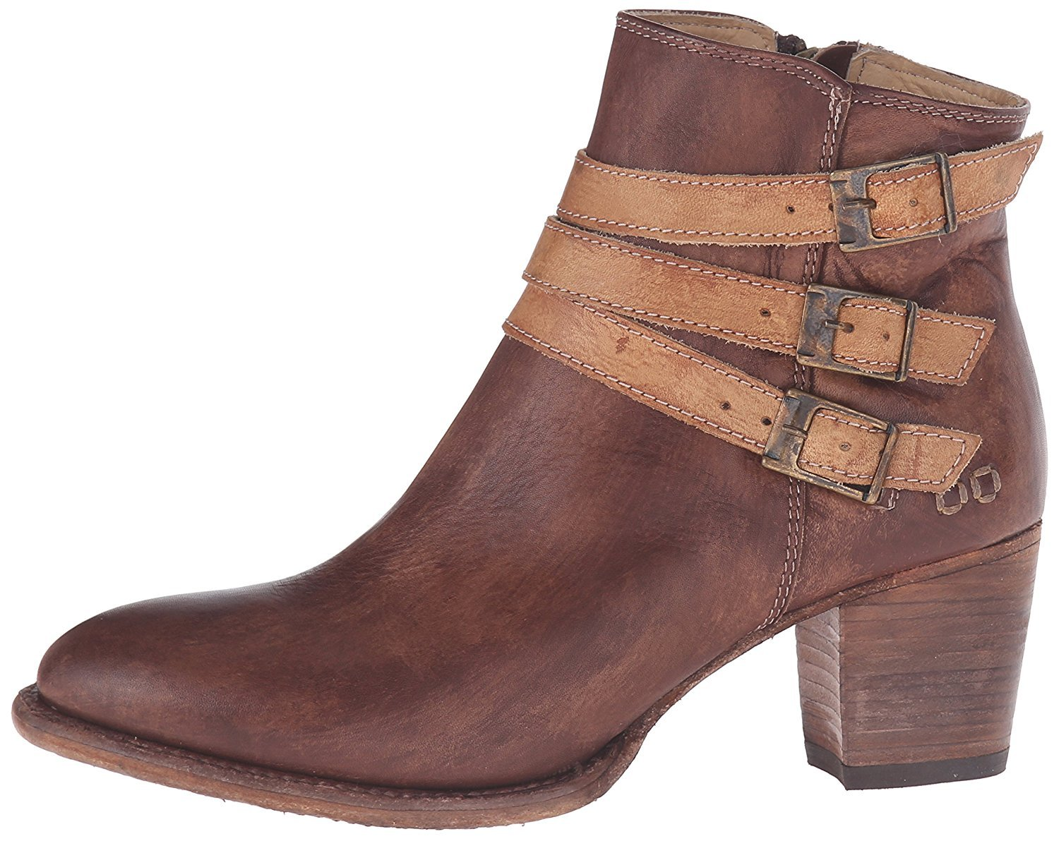 Bed|Stu Women's Begin Boot B01DBU5HBW 10 B(M) US|Black/Tan Teak Driftwood