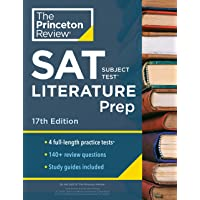 Cracking the SAT Subject Test in Literature: 4 Practice Tests + Content Review + Strategies & Techniques