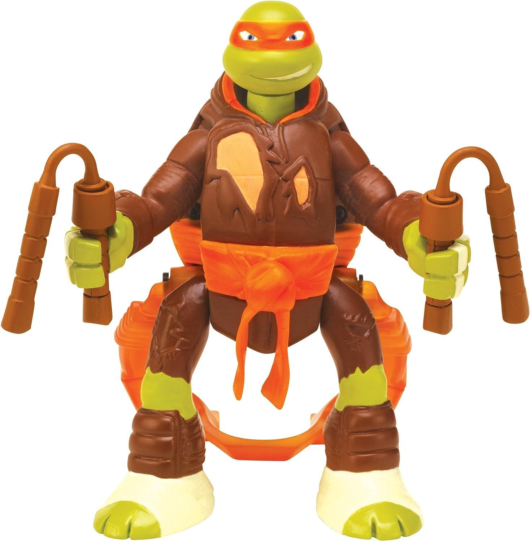 Teenage Mutant Ninja Turtles Throw N Battle Michelangelo Figure
