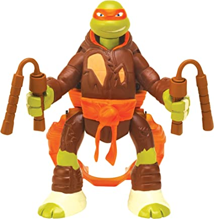 Teenage Mutant Ninja Turtles Throw N Battle Michelangelo Figure