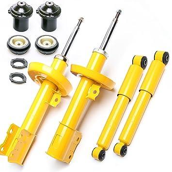4 x Deportes de impresión Sport Amortiguador Amortiguador de gas delantero trasera + dom Almacenamiento VA - Astra G, Zafira A: Amazon.es: Coche y moto