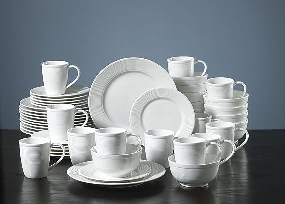 Amazon.com   Gorham Pickwick 48-Piece Dinnerware Set: Place Settings ...