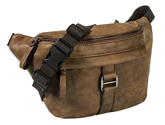 Bauchtasche Gürteltasche Hip Bag Damen Herren beige Belt Bag Camel Active