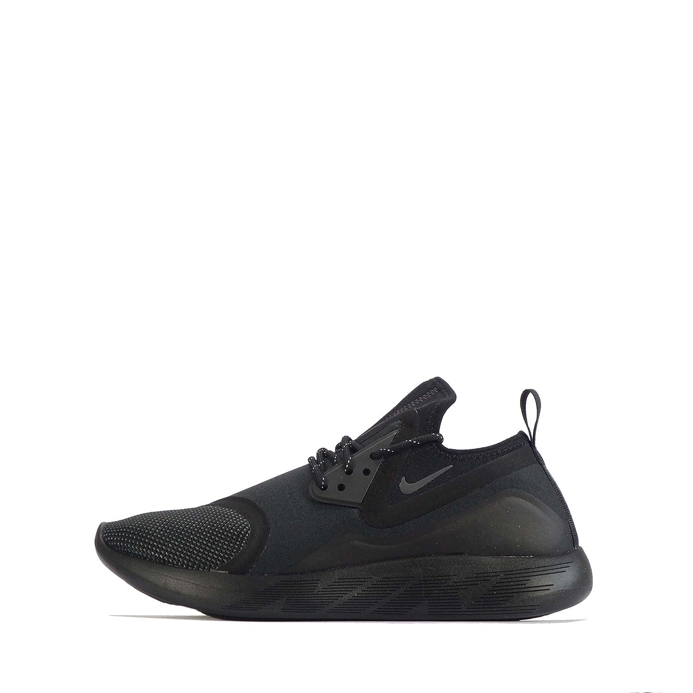 Nike  Nike Lunarcharge Essential, Herren Sneaker Black/Dark Grey/Black/Volt  40.5 EU