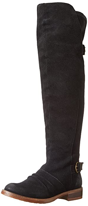 Amazon.com | Kensie Women's Stella Motorcycle Boot | Over-the-Knee