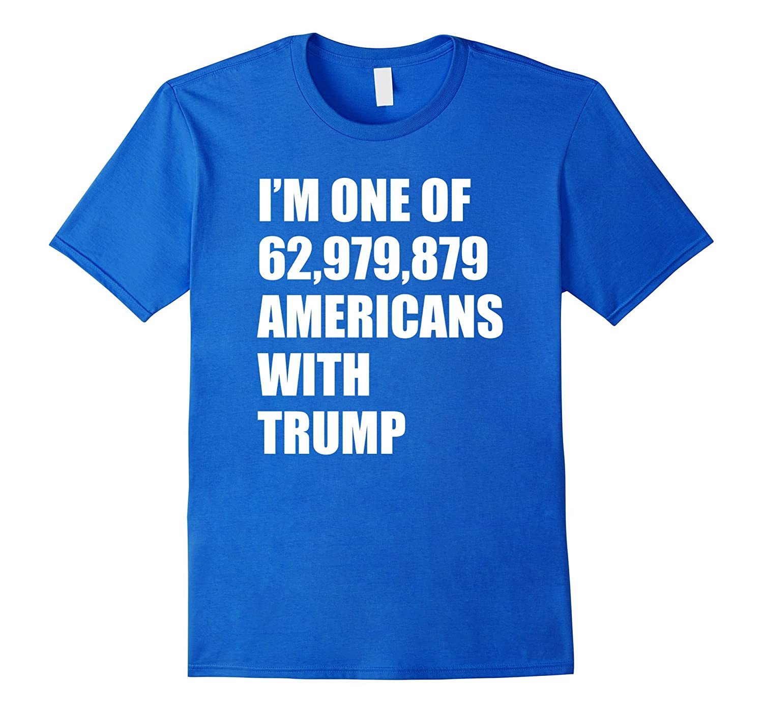 Americans with Trump Support Our President T Shirt Patriotic-CD