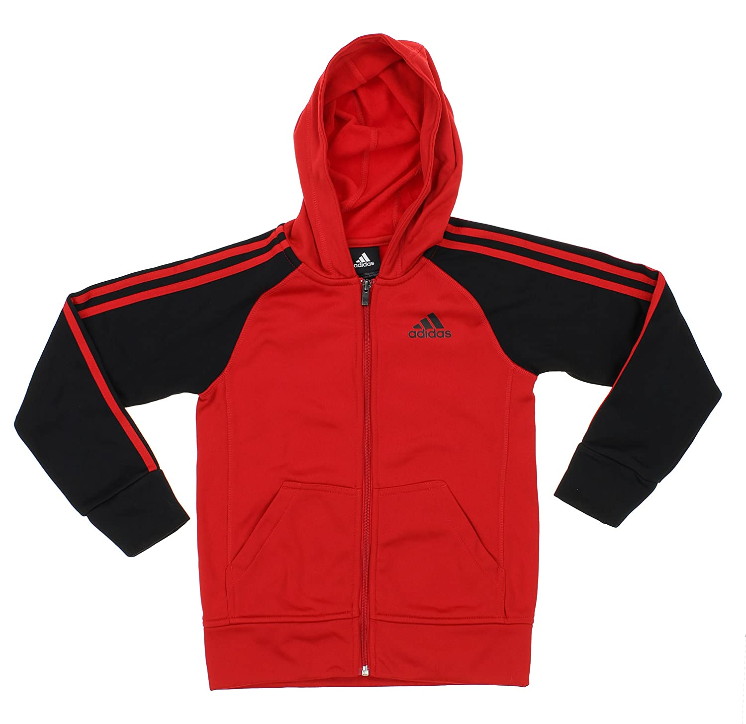adidas Youth Big Boys Full Zip Tech Fleece Hoodie