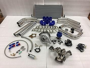 Amazon com: Civic D Series D16 D15 SOHC T3T4  63 Turbo Kit